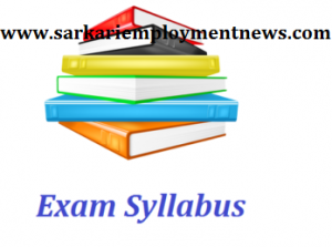 JSSC PGT Teacher Syllabus