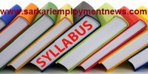 JKSPD junior Engineer Syllabus