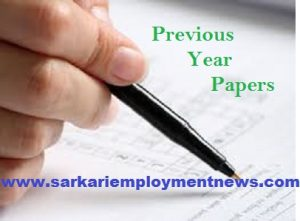 CWC Junior Superintendent Previous Papers