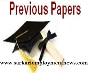 FCI Management Trainee Previous Papers