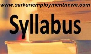BEL Sub Engineer Syllabus