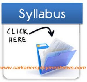 PPSC Drug Control Officer Syllabus