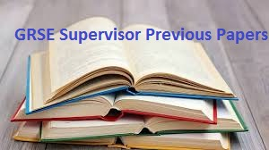 GRSE Supervisor Previous Papers