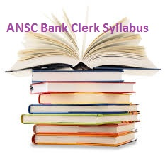 ANSC Bank Clerk Syllabus