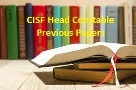CISF Head Constable Previous Papers