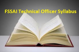 FSSAI Technical Officer Syllabus
