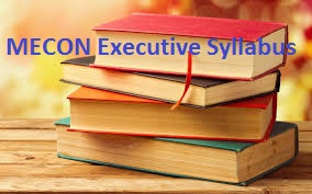 MECON Executive Syllabus