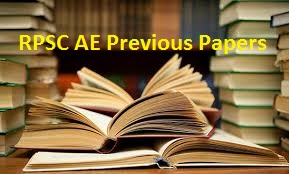 RPSC AE Previous Papers