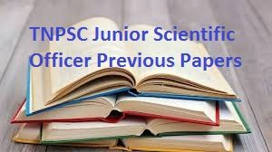 TNPSC Junior Scientific Officer Previous Papers
