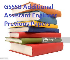 GSSSB Additional Assistant Engineer Previous Papers