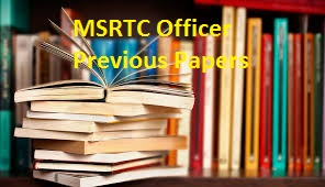 MSRTC Officer Previous Papers