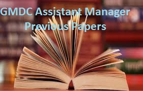 GMDC Assistant Manager Previous Papers