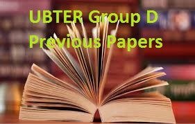 UBTER Group D Previous Papers